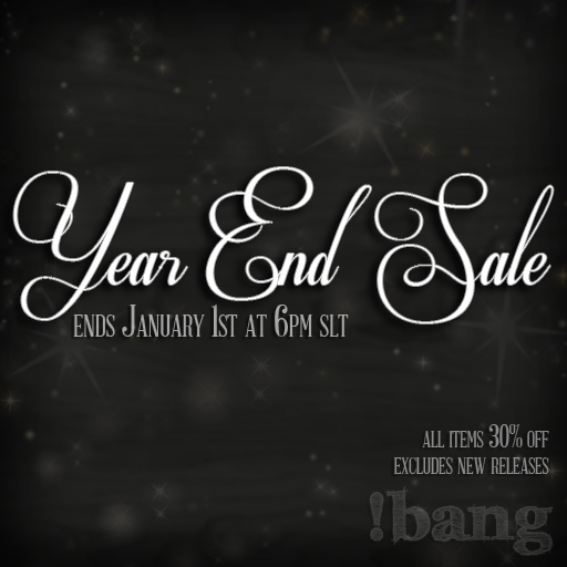 2012 Year End Sale