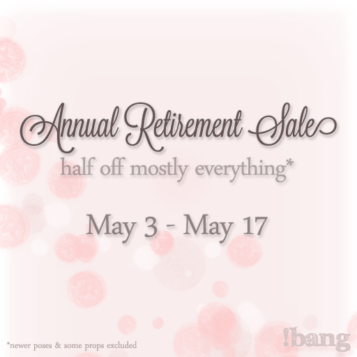 Annual Retirement Sale